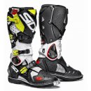Sidi Crossfire 2 Boots White Black Fluo Yellow