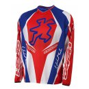 Hebo Pro Trial Jersey Blue Red
