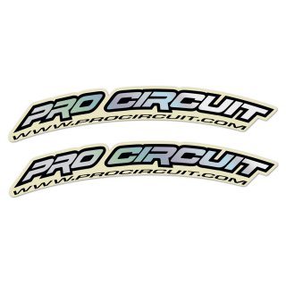 Pro Circuit Mini Kotflügel Sticker Hologram
