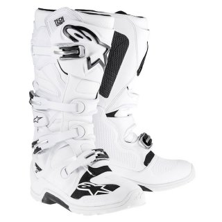 Alpinestars Tech 7 White MX Stiefel