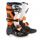 Alpinestars Tech 7 S Kids MX Stiefel Black Orange