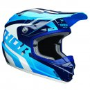 Thor Sector Kids Helm Blue White
