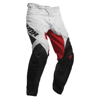 Thor Pulse MX/Enduro Pant Factor Black Red 2019
