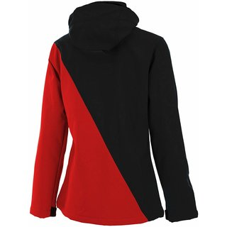 Ghost Softshell Jacket lady red/black/blue