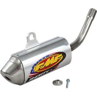 FMF POWERCORE 2 SHORTY Schalldämpfer ALUMINUM KTM SX125 98-03