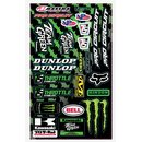 Kawasaki Team Green universal Stickerkit
