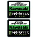 Kawasaki Pro Circuit Team Sticker