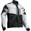 Thor Endurojacke TERRAIN LIGHT GRAY/BLACK