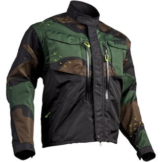 Thor Endurojacke TERRAIN LIGHT GREEN CAMO