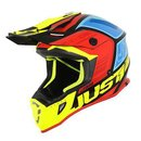 Just One MX Helm Blade J38 Blue Yellow Red