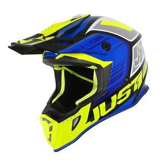 Just One MX Helm Blade J38 Blue Fluo Yellow