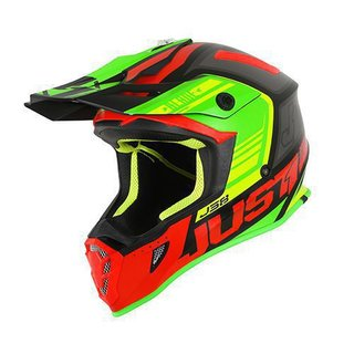 Just One MX Helm Blade J38 Red Lime