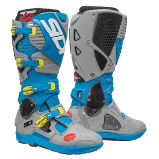 Sidi Crossfire 3 Boots SRS Light Blue Ash