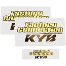 Gabelsticker Paar Kayaba Factory Connection Yellow