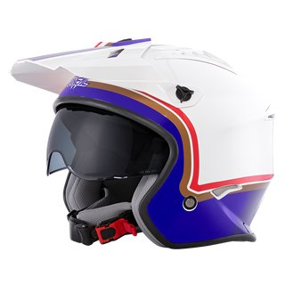 Oneal VOLT Helmet ROTHMANS white/purple/red L (59/60cm)