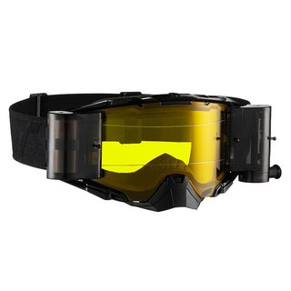 Leatt Velocity 6.5 Goggle MX Roll Off Brille White Yellow Clear