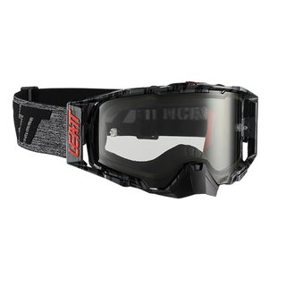 Leatt Velocity 6.5 Goggle MX Brille Brushed/Grey Clear