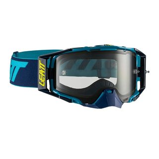 Leatt Velocity 6.5 Goggle MX Brille Ink Blue Clear