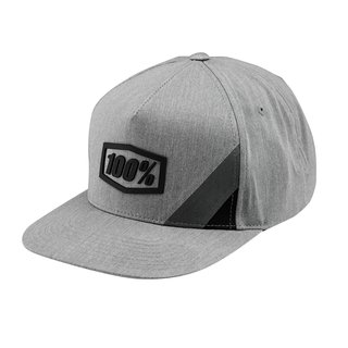 100% Cornerstone TRUCKER CAP Grey Heather / Black 2020