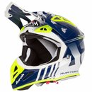 Airoh Aviator Ace MX / Enduro Helm Blue Husky