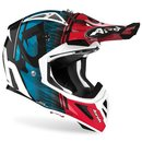 Airoh Aviator Ace MX / Enduro Helm Blue Kybo