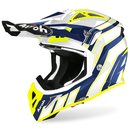 Airoh Aviator Ace MX / Enduro Helm Yellow Art
