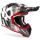 Airoh Aviator Ace MX / Enduro Helm Red Kybo