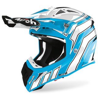 Airoh Aviator Ace MX / Enduro Helm Aure Art