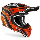 Airoh Aviator Ace MX / Enduro Helm Orange Art