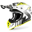 Airoh Aviator Ace MX / Enduro Helm Nemesi White
