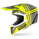 Airoh Wrap MX / Enduro Helm Yellow Grey
