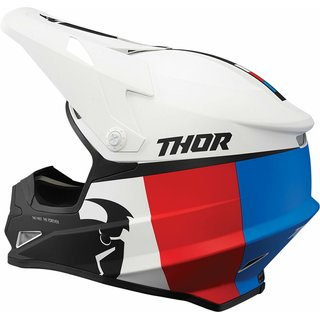 Thor Sector MX Helm Racer Blue Red 2021