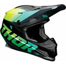Thor Sector MX Helm Racer Green 2021