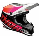 Thor Sector MX Helm Racer Magenta Orange 2021