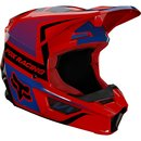 Fox V1 Kids Helm Oktiv Red 2021
