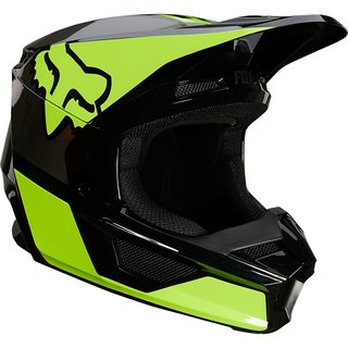 Fox V1 Kids Helm REVN Yellow 2021