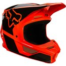 Fox V1 Kids Helm REVN Orange 2021