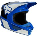 Fox V1 Kids Helm REVN Blue 2021