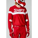 Shift MX Jersey 2021 White Label Haut Red
