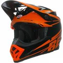 Bell Moto 9 Helm  Orange