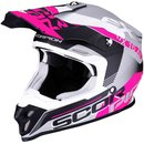 Scorpion VX-16 Air Arhus Motocross Helm Pink