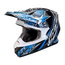 Scorpion VX-20 Air Win Win Motocross Helm Blau weiss