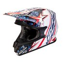 Scorpion VX-20 Air Win Win Motocross Helm Blau weiss Rot