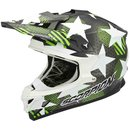 Scorpion VX-15 Air Star Motocross Helm Green